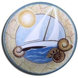 Piatto - Barca a vela