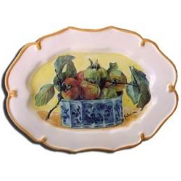 Piatto barocco ovale -...