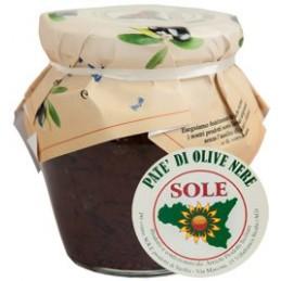 Pate' di Olive nere gr 180